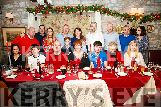 Carrie Donovan, Abbeydorney, who celebrated her 50th birthday at Cassidy's restaurant, Tralee on Friday night last.