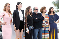 Mariana Ximenes, Luiza Mariani, Bruna Linzmeyer, Marina Provenzano and Flora Diegues attend the photocall for 'The Great Mystical Circus (O Grande Circo Mistico)' during the 71st annual Cannes Film Festival at Palais des Festivals on May 14, 2018 in Cannes, France.<br /> CAP/GOL<br /> &copy;GOL/Capital Pictures