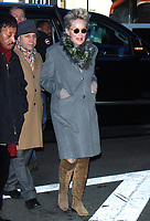 Sharon Stone Seen In NYC