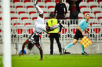 Celebration Esultanza Gol  - Allan Saint Maximin (OGC Nice)<br /> Nizza 28-09-2017 Football Europa League 2017/2018 Group K Nice - Vitesse Foto Norbert Scanella/Panoramic