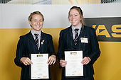 Girls Rowing finalists Madeline Seaman & Sarah Williams. ASB College Sport Young Sportperson of the Year Awards 2007 held at Eden Park on November 15th, 2007.