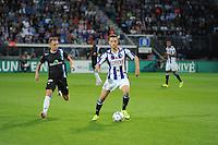 VOETBAL: HEERENVEEN: Abe Lenstra Stadion 29-08-2015, SC Heerenveen - PEC Zwolle, uitslag 1-1, Branco van den Boomen (#17), ©foto Martin de Jong