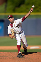 Starting pitcher Sean Gilmartin #3 of the Florida State Seminoles in action versus the Boston College Eagles at Durham Bulls Athletic Park May 20, 2009 in Durham, North Carolina. (Photo by Brian Westerholt / Four Seam Images)