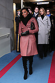 Actress Eva Longoria arrives for the presidential inauguration on the West Front of the United States Capitol January 21, 2013 in Washington, DC.   Barack Obama was re-elected for a second term as President of the United States.      .Credit: Win McNamee / Pool via CNP