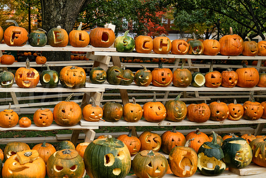 Pumpkin festival, Keene, Cheshire County, New Hampshire, USA