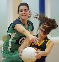 120625 College Super League Netball - WEGS v Paraparaumu