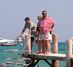 Joel Silver & Karyn Fields in St Tropez 07/16/2004