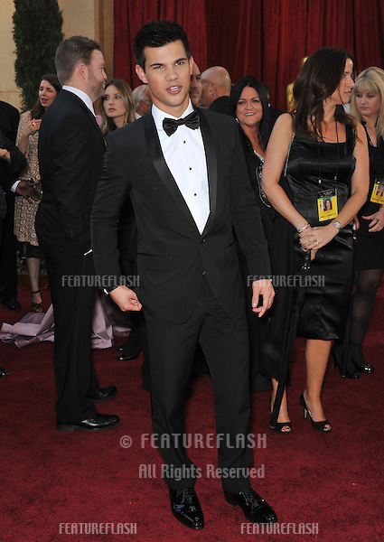 Taylor Lautner at the 82nd Annual Academy Awards at the Kodak Theatre, Hollywood..March 7, 2010  Los Angeles, CA.Picture: Paul Smith / Featureflash