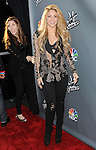 """Shakira arriving at NBC's """"The Voice"""" Red Carpet Event at Sayers Club in Los Angeles, CA. April 3, 2014."""