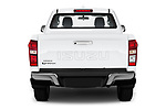 Straight rear view of 2019 Isuzu D-Max LS 2 Door Pick-up Rear View  stock images