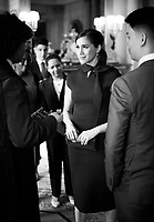 Meghan Duchess of Sussex Meets Commonwealth Scholars