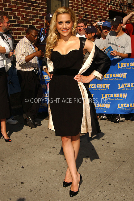 WWW.ACEPIXS.COM . . . . . ....June 20, 2006, New York City. ....Brittany Murphy stops by the Letterman Show.......Please byline: KRISTIN CALLAHAN - ACEPIXS.COM.. . . . . . ..Ace Pictures, Inc:  ..(212) 243-8787 or (646) 769 0430..e-mail: info@acepixs.com..web: http://www.acepixs.com