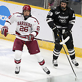 Jacob Olson (Harvard - 26), Conor MacPhee (PC - 29) - The Harvard University Crimson defeated the Providence College Friars 3-0 in their NCAA East regional semi-final on Friday, March 24, 2017, at Dunkin' Donuts Center in Providence, Rhode Island.
