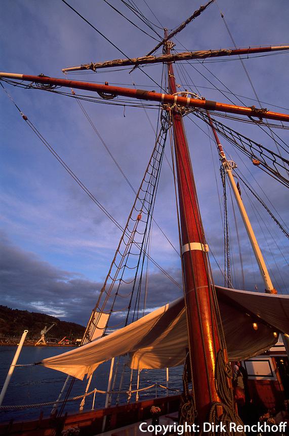 Im Hafen vor dem Rathausplatz, Oslo, Norwegen