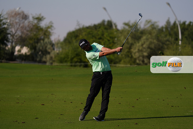 Andy Sullivan (ENG) on the 16th during Round 1 of the Commercial Bank Qatar Masters 2020 at the Education City Golf Club, Doha, Qatar . 05/03/2020<br /> Picture: Golffile | Thos Caffrey<br /> <br /> <br /> All photo usage must carry mandatory copyright credit (© Golffile | Thos Caffrey)