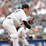 Masahiro Tanaka (Yankees),<br /> SEPTEMBER 21, 2014 - MLB :<br /> Masahiro Tanaka of the New York Yankees during the Major League Baseball game against the Toronto Blue Jays at Yankee Stadium in Bronx, New York, United States. (Photo by AFLO)