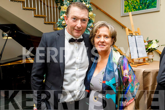 Maura and Tommy Sheehy from the Ballyroe attending the Fenit Lifeboats 25th Anniversary Black Tie Charity Ball in Ballyroe Heights Hotel on Saturday.