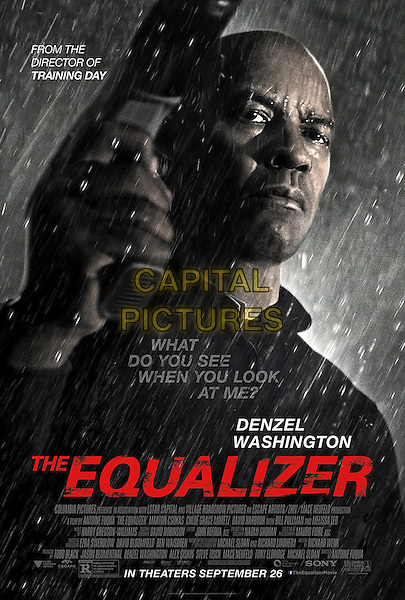ONE SHEET POSTER ART<br /> in The Equalizer (2014) <br /> *Filmstill - Editorial Use Only*<br /> CAP/FB<br /> Image supplied by Capital Pictures