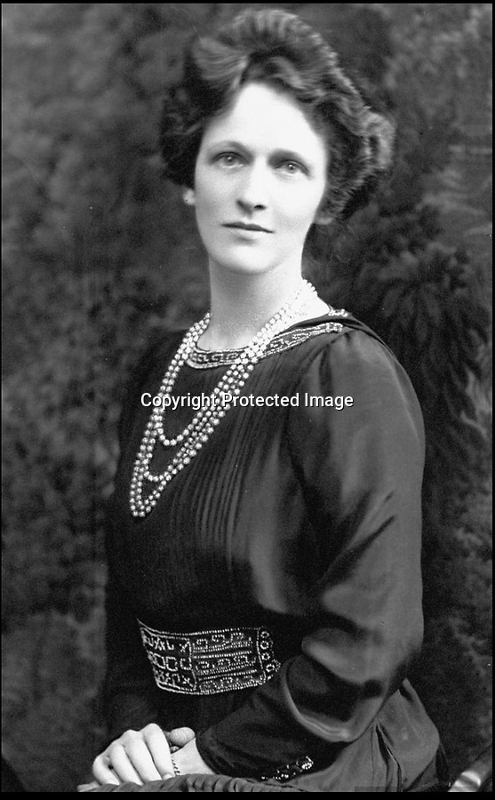 """BNPS.co.uk (01202 558833)<br /> Pic: BNPS<br /> <br /> American born miliionairess, and first female to sit in the House of Commons, Nancy Astor.<br /> <br /> Astor be worth it - A stunning pendant owned by Britain's trailblazing first female MP has emerged for sale for £20,000.<br /> <br /> The huge Edwardian aquamarine and diamond gem belonged to fabulously rich American born Nancy Astor who was elected to the House of Commons in 1919.<br /> <br /> The striking jewel was bought in 1910 when Nancy and her husband Waldorf were living at their country pile Cliveden in Buckinghamshire.<br /> <br /> The vast estate had been gifted to the couple as a wedding present in 1906 by Waldorfs billionaire father William.<br /> <br /> Nancy is famous for her sharp exchanges with Churchill, in one reported exchange, Lady Astor said to Churchill, """"If you were my husband, I'd poison your tea,"""" to which he responded, """"Madam, if you were my wife, I'd drink it.""""<br /> <br /> The unique gem has now been consigned for sale by Viscountess Astor's great-granddaughter at Dreweatts auction house of Newbury, Berks.<br /> <br /> The Belle Epoque jewel is 4ins in length with a mounting in platinum fronted gold.<br /> <br /> James Nicholson, deputy chairman of Dreweatts, said: """"This brooch is the epitome of the finest Edwardian Belle Epoque jewellery, fashionable in the early 20th century's 'Age of Elegance' just before the outbreak of the First World War."""