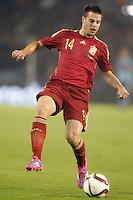 Spain's Cesar Azpilicueta during international friendly match.November 18,2014. (ALTERPHOTOS/Acero) /NortePhoto<br /> NortePhoto.com
