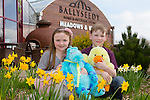 Enjoying the Easter egg hunt at the family fun day at Ballyseedy garden centre on Easter Sunday were Nia Kirby from Tralee and Luke Healy also from Tralee