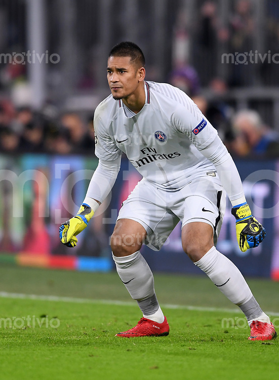 FUSSBALL CHAMPIONS LEAGUE SAISON 2017/2018 GRUPPENPHASE FC Bayern Muenchen - Paris Saint-Germain               05.12.2017 Torwart Alphonse Areola (Paris Saint-Germain)