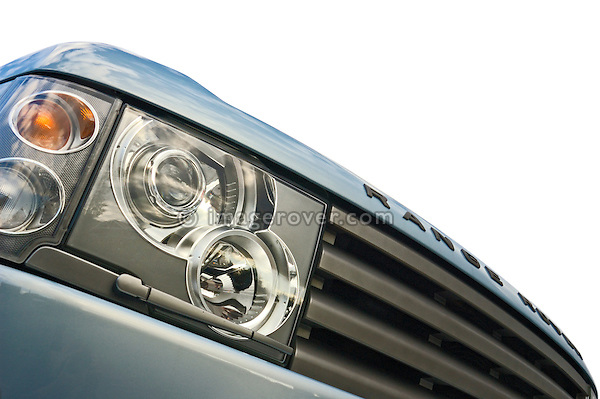 Range Rover 3rd Generation close up. --- No releases available. Automotive trademarks are the property of the trademark holder, authorization may be needed for some uses.