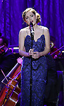 Laura Osnes performing in The American Pops Orchestra '75 Years of Streisand'  at the George Washington University Lisner Auditorium on January 13, 2017 in New York City.