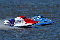 Frame 2: Final lap of heat race 2: Jeremiah Mayo (#8), Chris Hughes (#17)       (SST-45)