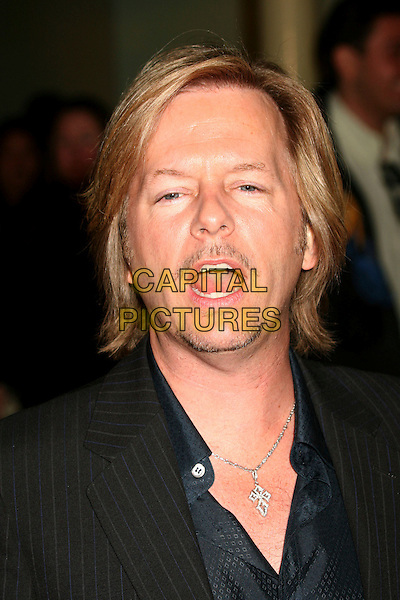 "DAVID SPADE.""I Think I Love My Wife"" Los Angeles Premiere at ArcLight Cinemas, Hollywood, California, USA..March 7th, 2007.headshot portrait mustache facial hair mouth open .CAP/ADM/BP.©Byron Purvis/AdMedia/Capital Pictures"