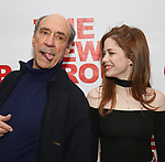 "F. Murray Abraham and Charlotte Hope attends The New Group presents the New York Premiere Opening Night of David Rabe's for ""Good for Otto"" on March 8, 2018 at the Green Fig Urban Eatery,  in New York City."