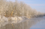 Huron River Winter