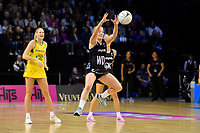 Silver Ferns&rsquo; Sam Sinclair in action during the International Netball Constellation Cup - NZ Silver Fans v Australia Diamonds at TSB Bank Arena, Wellington, New Zealand on Thursday 18 October  2018. <br /> Photo by Masanori Udagawa. <br /> www.photowellington.photoshelter.com