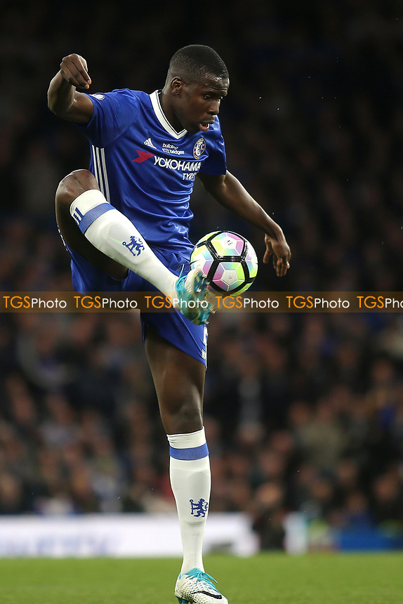 Kurt Zouma of Chelsea during Chelsea vs Watford, Premier League Football at Stamford Bridge on 15th May 2017