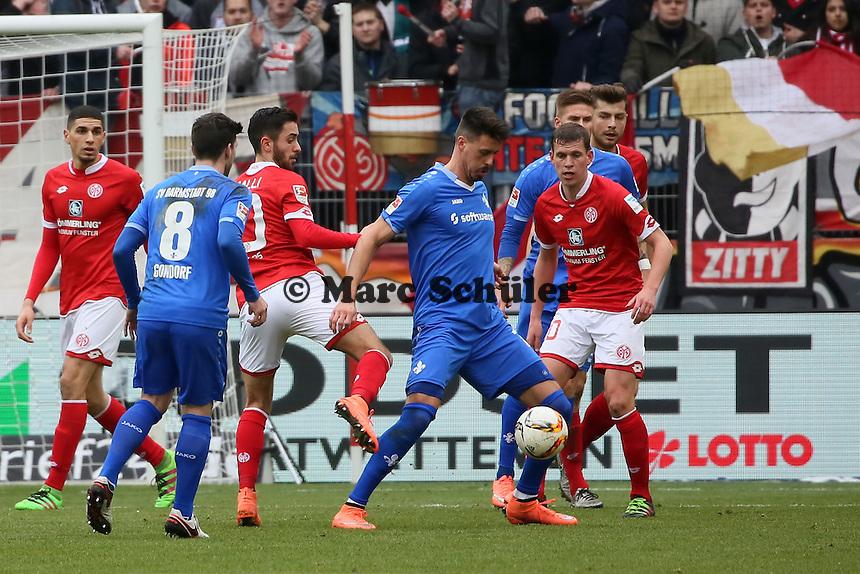 Sandro Wagner (Darmstadt) - 1. FSV Mainz 05 vs. SV Darmstadt 98, Coface Arena