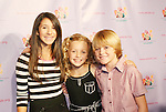 Paulina Gerzon, Peyton and Spencer List at the Kids for Kids Celebrity Carnival to benefit the Elizabeth Glaser Pediatric Aids Foundation on September 20, 2008 at the Park Avenue Armory, New York City, New York. (Photo by Sue Coflin/Max Photos)