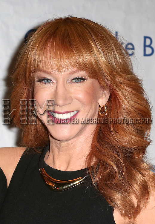 Kathy Griffin attends the 14th Annual 'Only Make Believe' Gala at the Bernard B. Jacobs Theatre on November 4, 2013  in New York City.