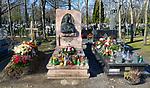 Cmentarz Rakowicki w Krakowie, nagrobek Marka Grechuty