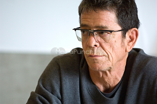 Lou Reed participates in a 'Made in CataluNYa,' Catalan Culture in New York conference at the Baryshnikov Arts Center, New York City, March 19, 2007. RTNMArks / MediaPunch Inc