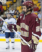 Dan Bertram - The Boston College Eagles defeated the University of Maine Black Bears 4-1 in the Hockey East Semi-Final at the TD Banknorth Garden on Friday, March 17, 2006.
