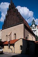 Alt-Neu Synagoge, Prag, Tschechien, Unesco-Weltkulturerbe.