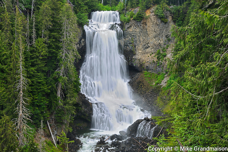 Alexander Falls<br /> near Whistler<br /> British Columbia<br /> Canada
