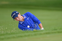 Carlota Ciganda (ESP) hits from the trap on 1 during the round 3 of the KPMG Women's PGA Championship, Hazeltine National, Chaska, Minnesota, USA. 6/22/2019.<br /> Picture: Golffile | Ken Murray<br /> <br /> <br /> All photo usage must carry mandatory copyright credit (© Golffile | Ken Murray)