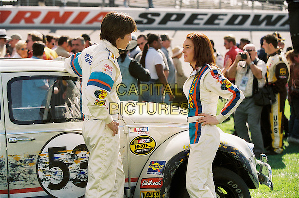 JUSTIN LONG & LINDSAY LOHAN .in Herbie: Fully Loaded.Filmstill - Editorial Use Only.CAP/AWFF.www.capitalpictures.com.sales@capitalpictures.com.Supplied By Capital Pictures.