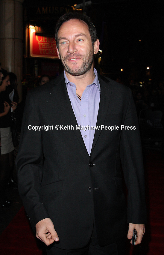 "London - Jason Isaacs at the UK Premiere of ""The Road"" at the Vue West End, Leicester Square, London - October 16th 2009..Photo by Keith Mayhew.."
