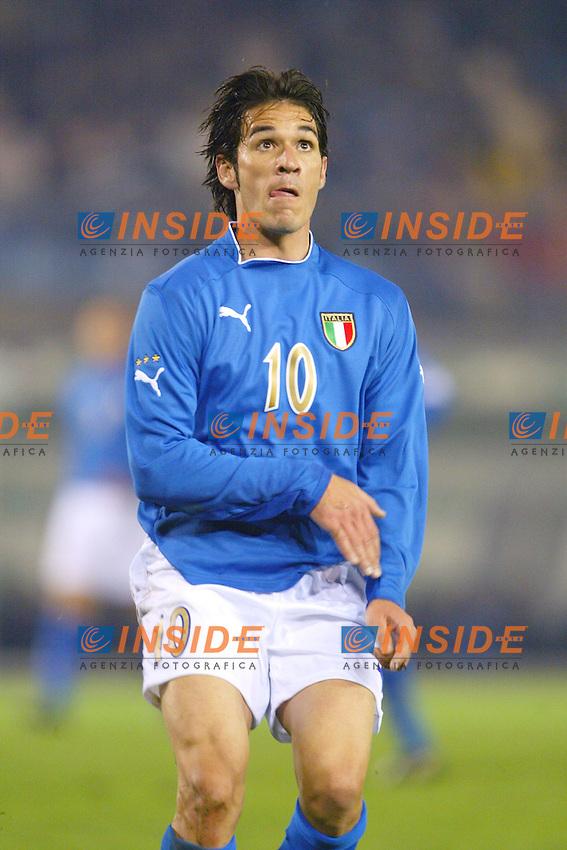 Rieti 19 Novembre 2003 Qualificazioni Campionato Europeo Under 21<br /> Italia Danimarca Under 21 0-0<br /> Gaetano D'Agostino<br /> Foto Andrea Staccioli Insidefoto