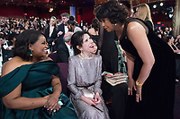 Oscar&reg; winner Octavia Spencer and Oscar&reg; nominee Sally Hawkins with Cheryl Boone Isaacs at the The 90th Oscars&reg; at the Dolby&reg; Theatre in Hollywood, CA on Sunday, March 4, 2018.<br /> *Editorial Use Only*<br /> CAP/PLF/AMPAS<br /> Supplied by Capital Pictures