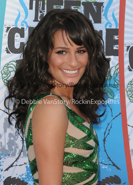 Lea Michelle at Fox Teen Choice 2010 Awards held at he Universal Ampitheatre in Universal City, California on August 08,2010                                                                                      Copyright 2010 © DVS / RockinExposures