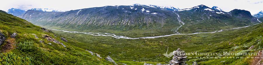 Norway, Jotunheimen. Storådalen close to the Gjende Lake.