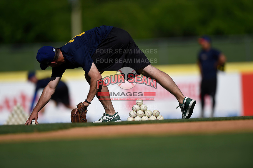 ***Temporary Unedited Reference File***Midland RockHounds  during a game against the San Antonio Missions on April 22, 2016 at Nelson W. Wolff Municipal Stadium in San Antonio, Texas.  San Antonio defeated Midland 8-4.  (Mike Janes/Four Seam Images)